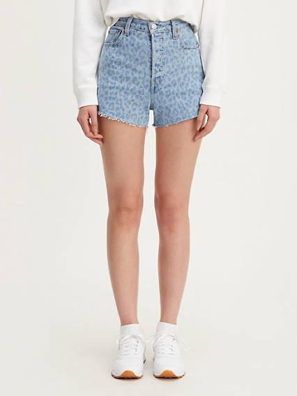 Printed Ribcage Shorts