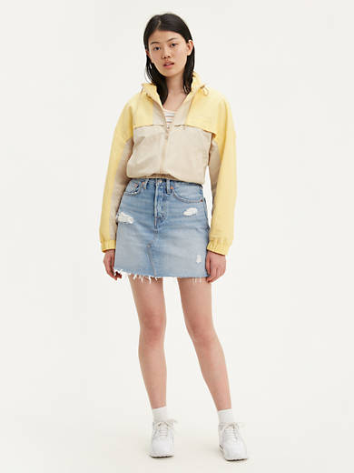 Levi/'s  Mini Skirt Quiet Waters  NWT Style 164920000
