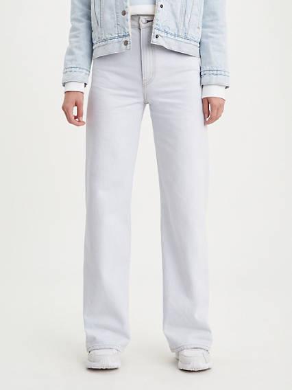 Ribcage Wide Leg Corduroy Pants