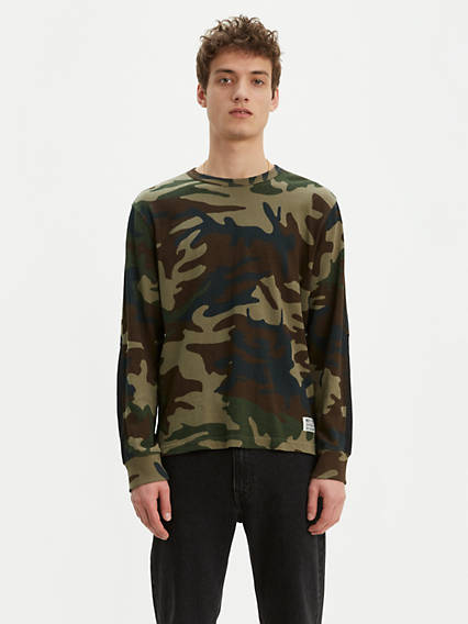 Camo Longsleeve Mighty Made™ Tee
