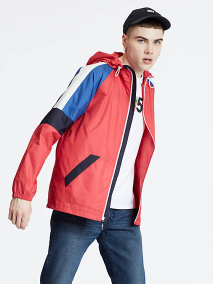 Colorblock Windrunner Jacket