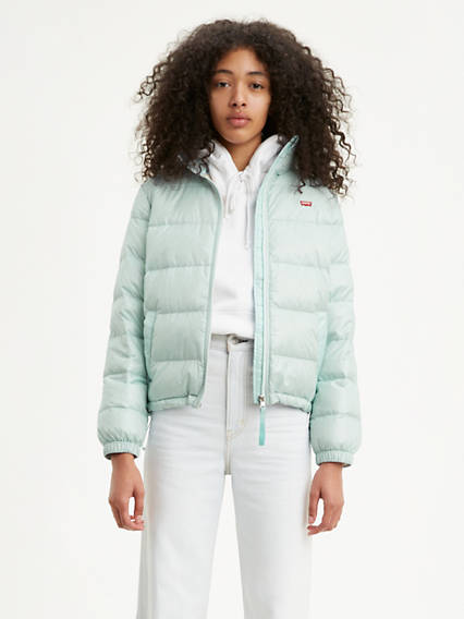 Francine Down Packable Coat