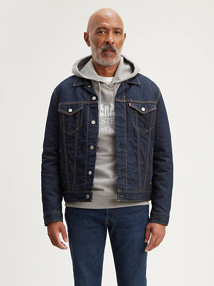 Levi's® WellThread™ x Outerknown Lined Sherpa Trucker Jacket