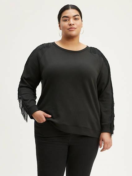 Reese Crewneck Sweatshirt (Plus Size)
