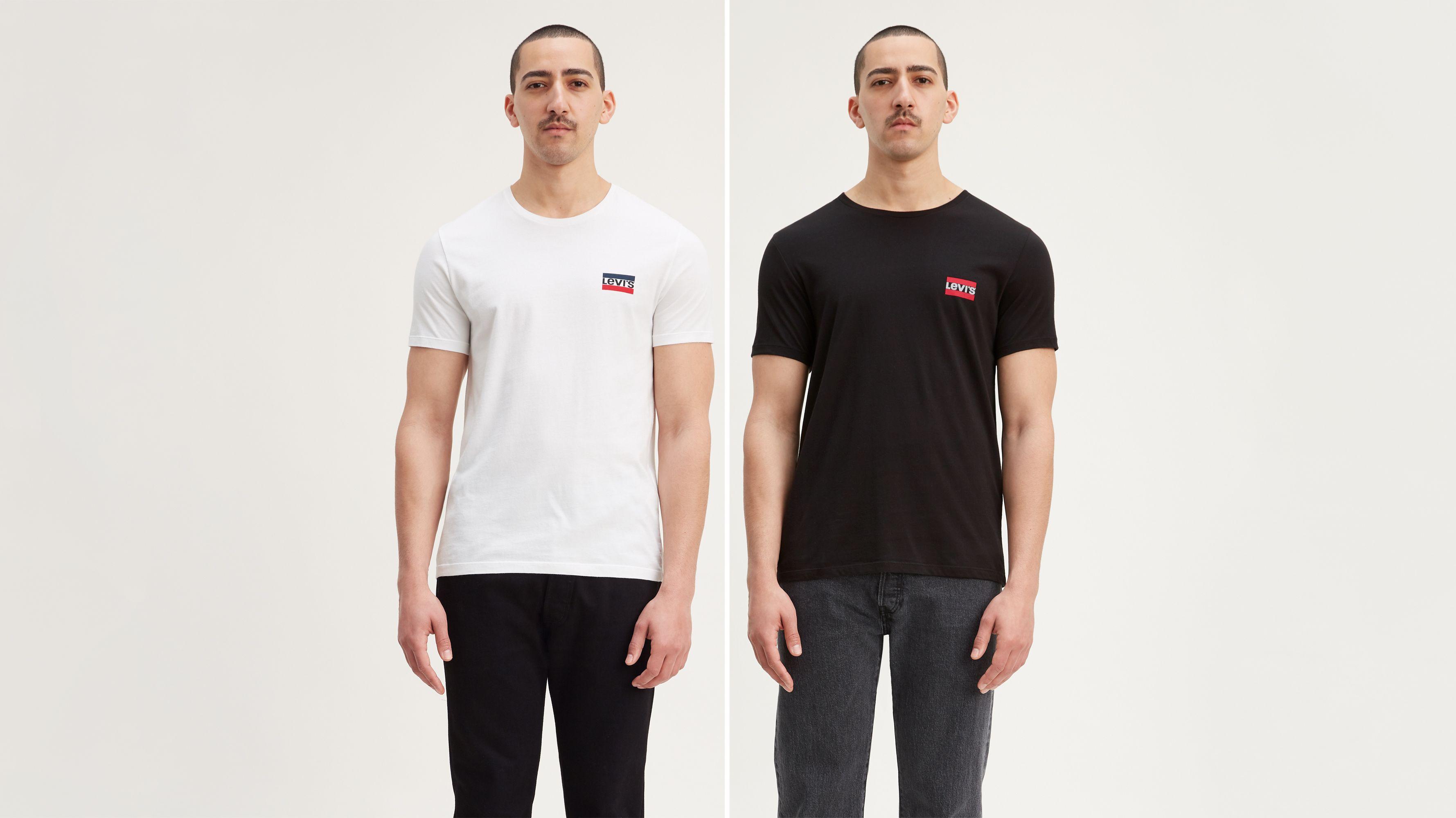 Sportswear Chest Logo Tee Shirt (2-Pack)