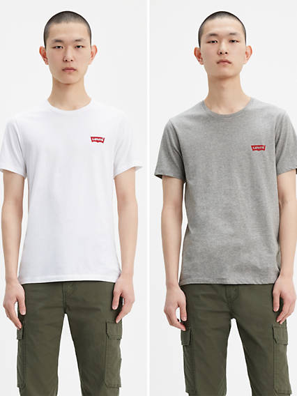 Levi's® Chest Logo Tee Shirt (2-Pack)