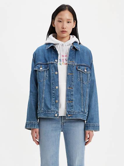 248ed0a8a1c Jean Jackets - Shop Women's Denim Jackets, Vests & Outerwear ...