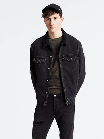 Levi's® Engineered Jeans™ Sherpa Trucker