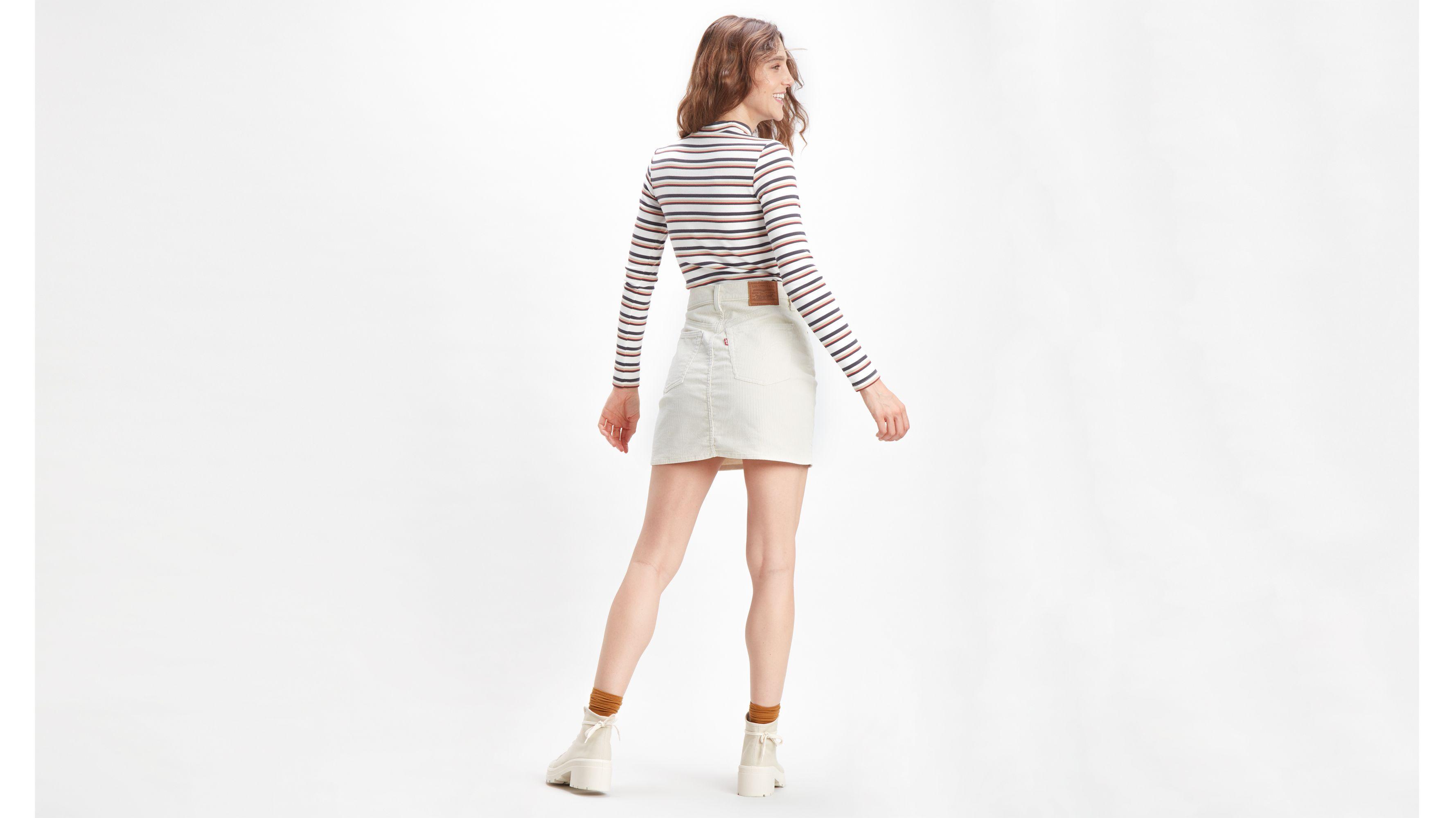 Iconic Deconstructured Skirt Cream   Levi's® SE