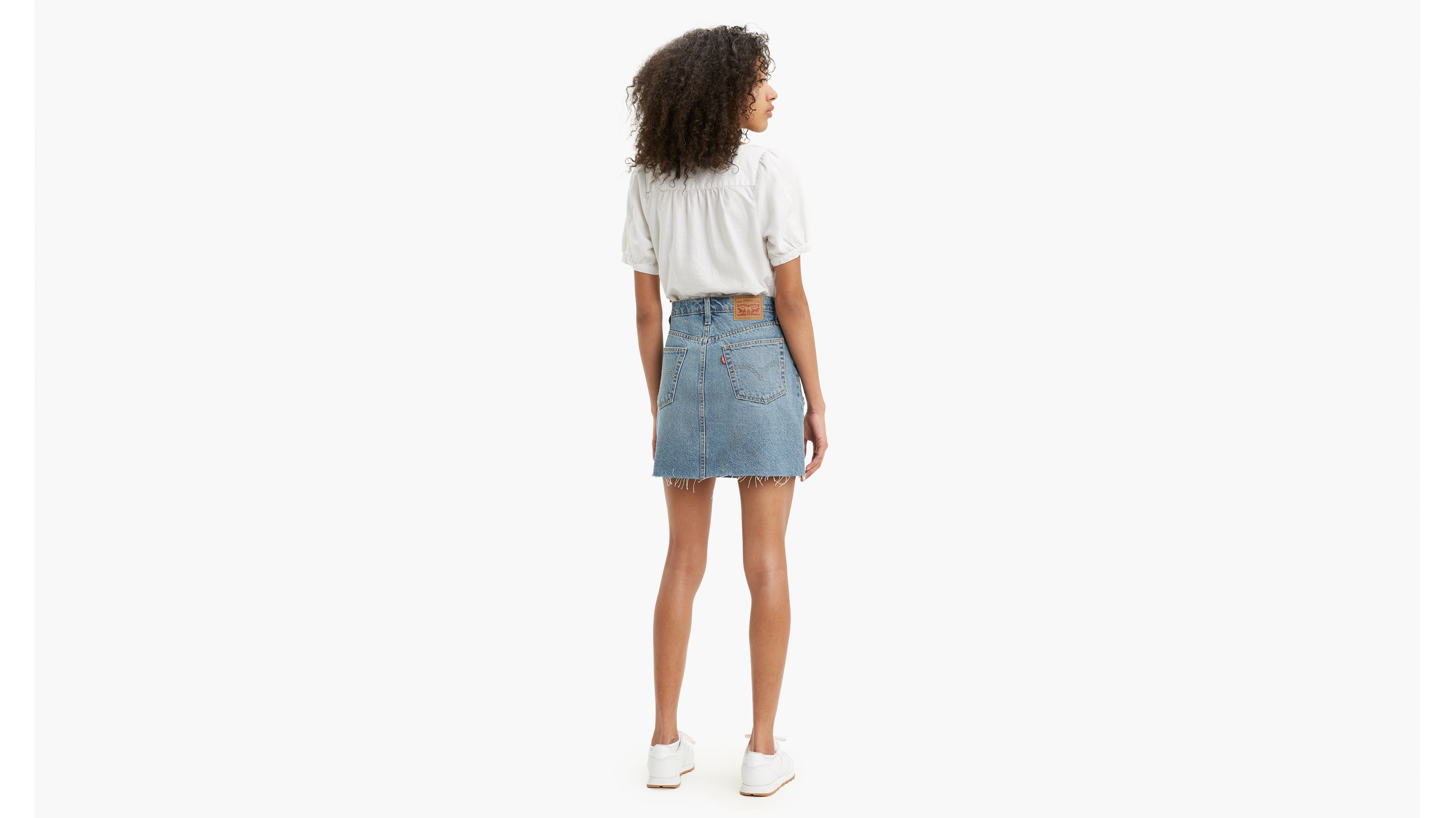 High Rise Deconstructured Iconic Skirt