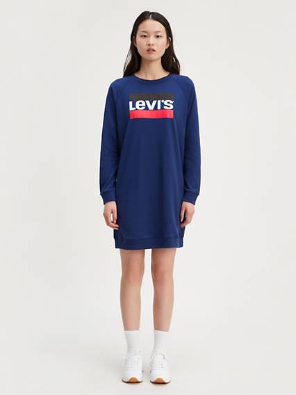 Crew Sweatshirt Dress