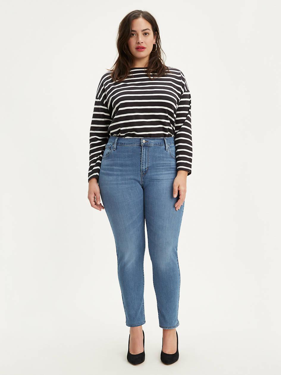 721 High Rise Skinny Jean (plus Size) - Medium Wash | Levi's® US