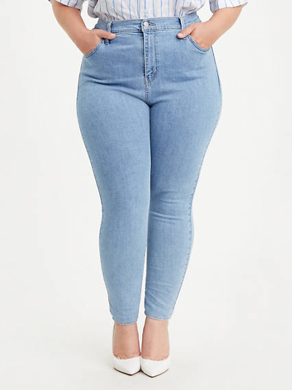 721 High Rise Skinny Jean (Plus Size)
