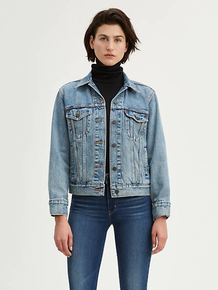 Levi's® Ex-Boyfriend Trucker Jacket with Jacquard™ by Google