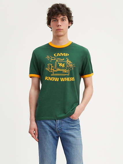 Levi's® x Stranger Things Camp Know Where Ringer Tee Shirt