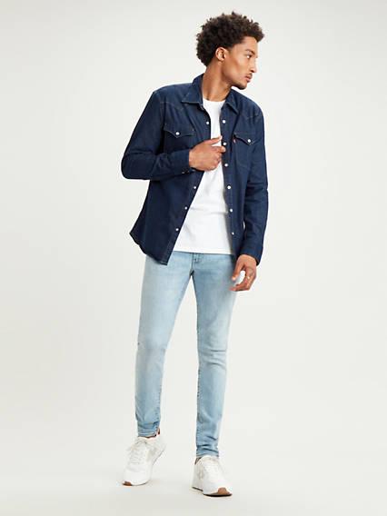 Skinny Taper Jeans
