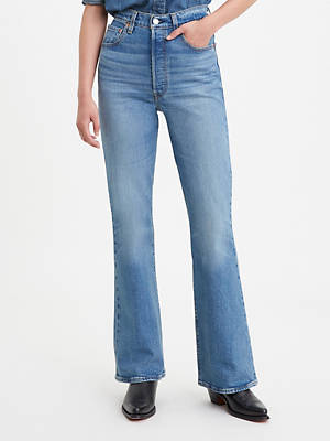 Ribcage Full Length Flare Women's Jeans by Levi's, available on levi.com for $73 Bella Hadid Pants SIMILAR PRODUCT