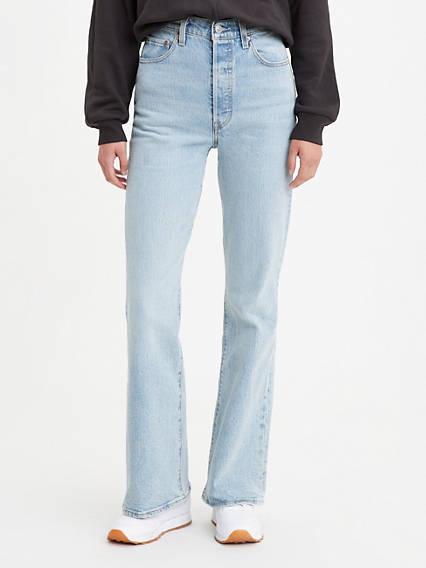 Ribcage Full Length Flare Women's Jeans