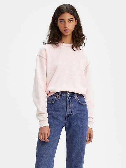 Oversized Mock Fleece Shirt