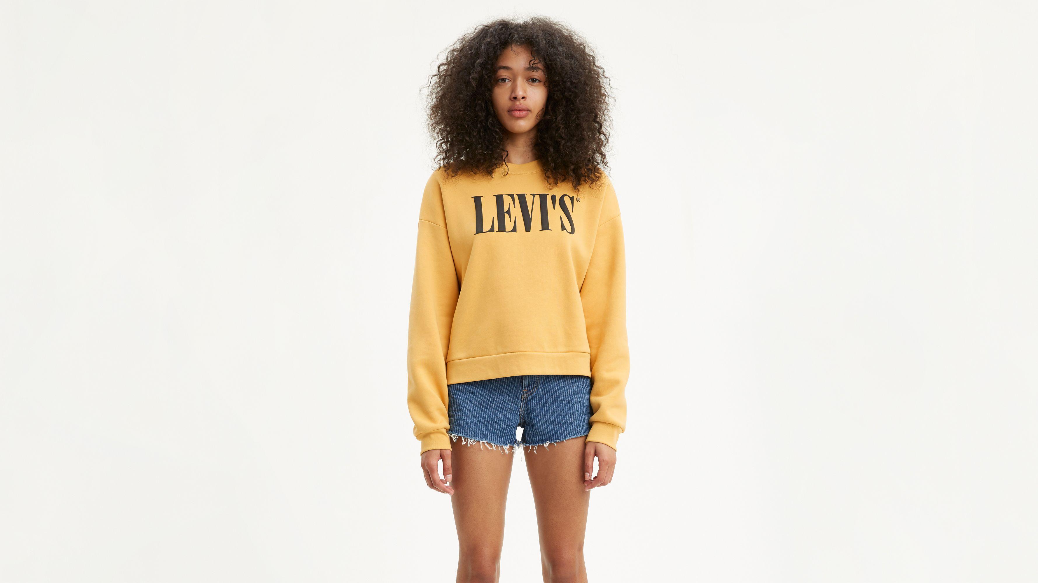 New Graphic Crewneck Sweatshirt