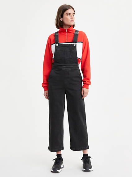 Ribcage Wide Leg Overalls