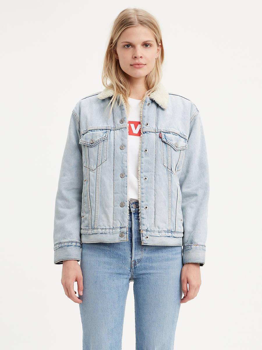 Levi's Sherpa Trucker Women's Jacket