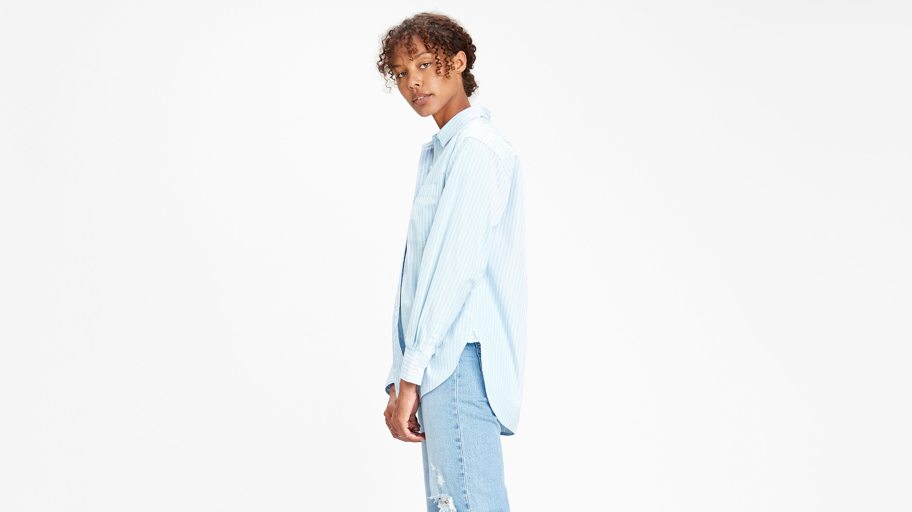 The Dad Shirt With Pockets Blu | Levi's® IT