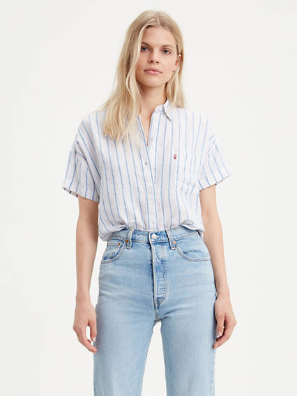 Short Sleeve Alexandra Shirt