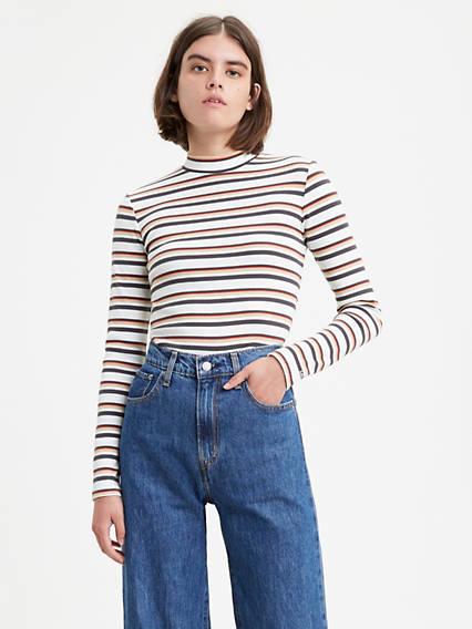 Penny Mockneck Tee Shirt