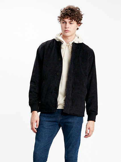 Quilted Deck Bomber Jacket