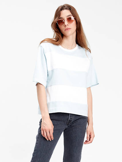 Rugby Stripe Parker Top