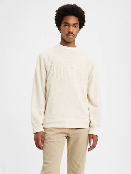 Polar Fleece Popover Sweatshirt