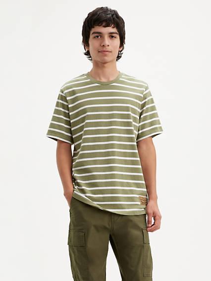 Short Sleeve Workwear Relaxed Tee Shirt