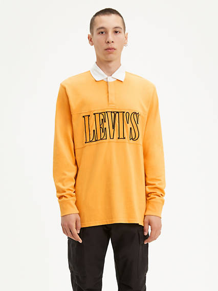 Authentic Pieced 90's Serif Logo Shirt