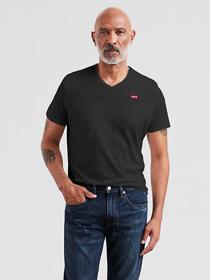 Levi's® Original Housemark V-Neck Tee