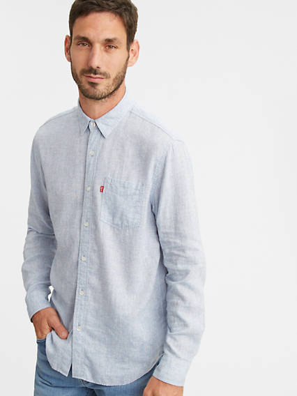 Sunset One Pocket Standard Fit Shirt