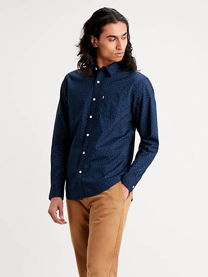 Classic Standard Shirt One Pocket