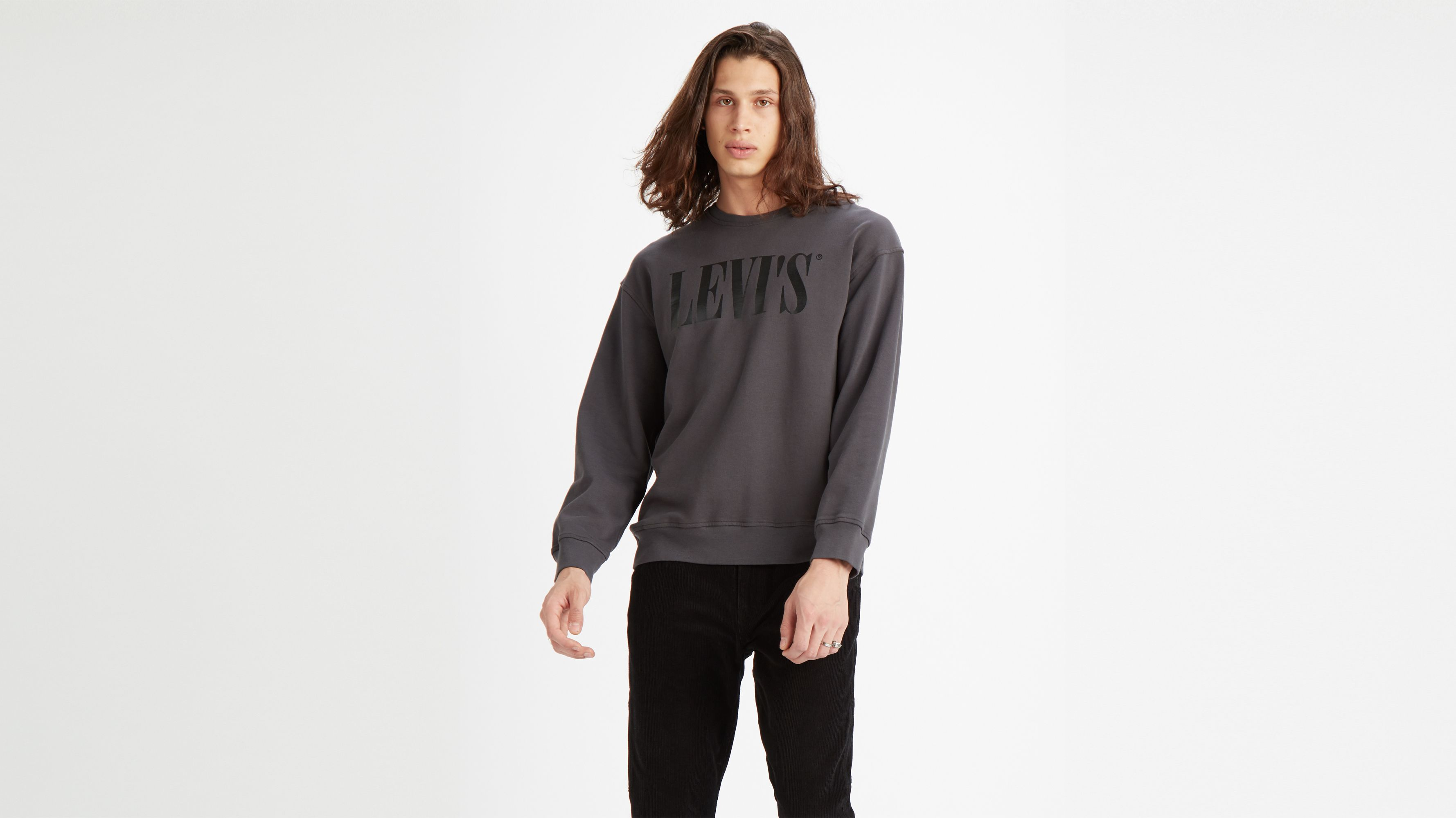 Relaxed Graphic Crewneck Grey | Levi's® PL