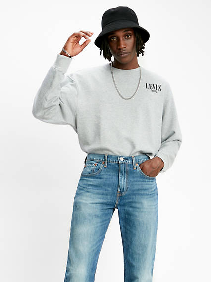 Relaxed Graphic Crewneck