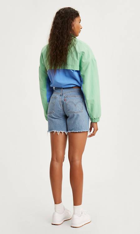 501® Mid Thigh Womens Shorts - Light Wash | Levi's® US