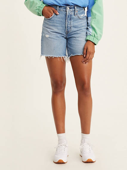 501® Mid Thigh Womens Shorts