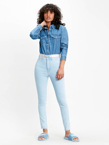 Mile High Ankle Super Skinny Jeans
