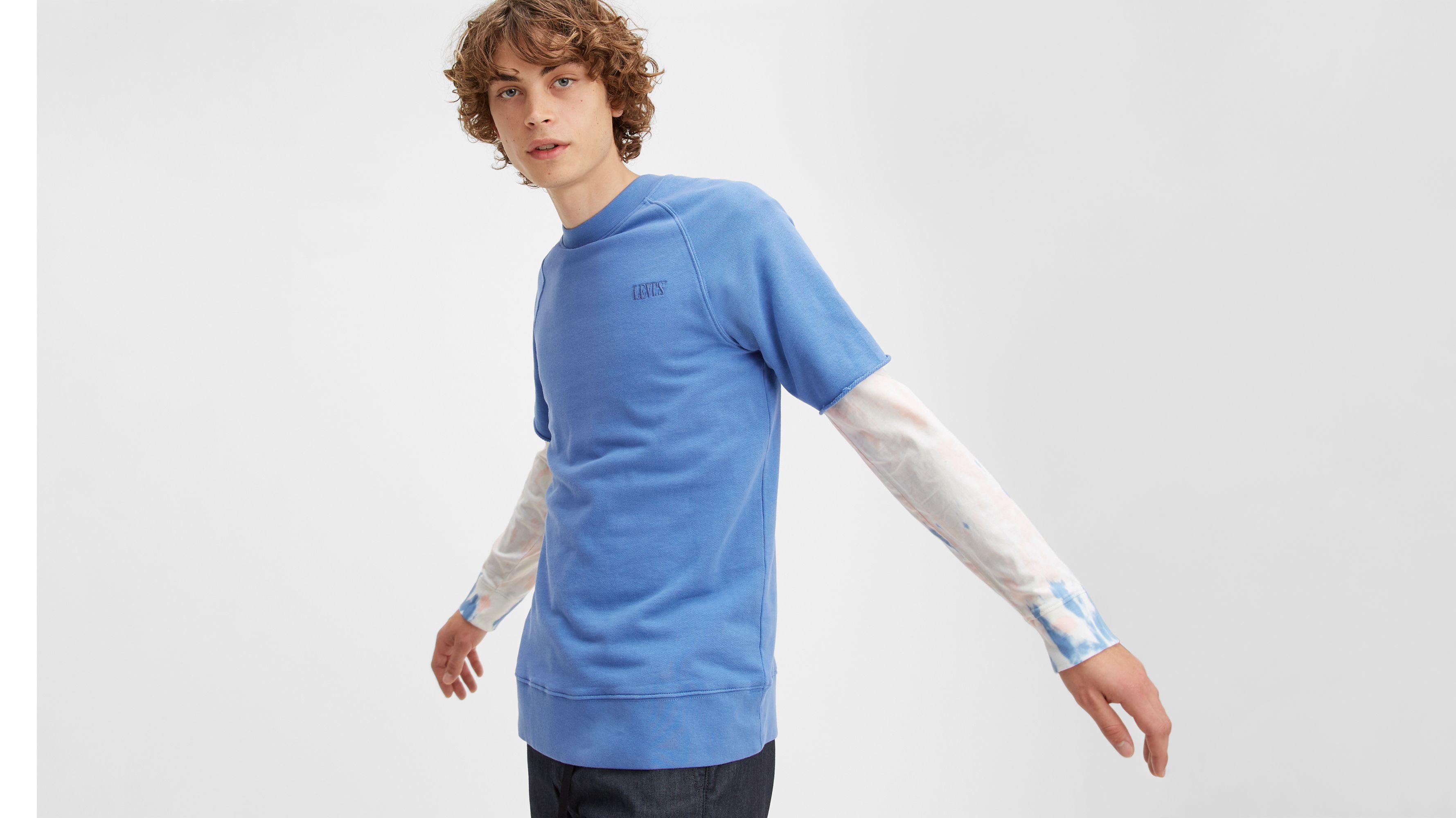 Cutoff Crewneck Sweatshirt
