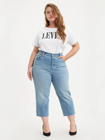 501® Crop Jeans (Plus Size)