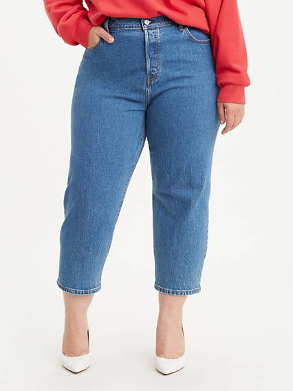 501® Original Cropped Women's Jeans (Plus Size)