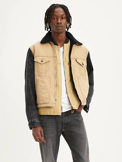 Levi's® x Justin Timberlake Canvas Sherpa Trucker Jacket