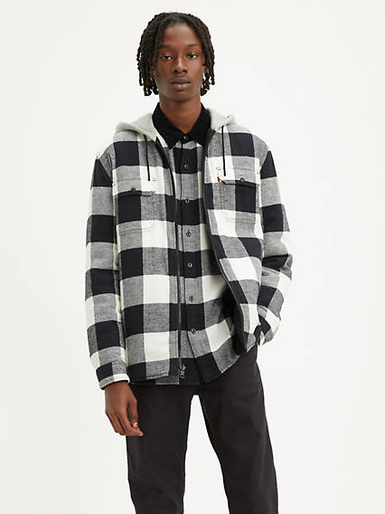 Levi's® X Justin Timberlake Reversible Hooded Sherpa Jacket