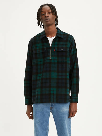 Levi's® X Justin Timberlake 1/2 Zip Worker Shirt