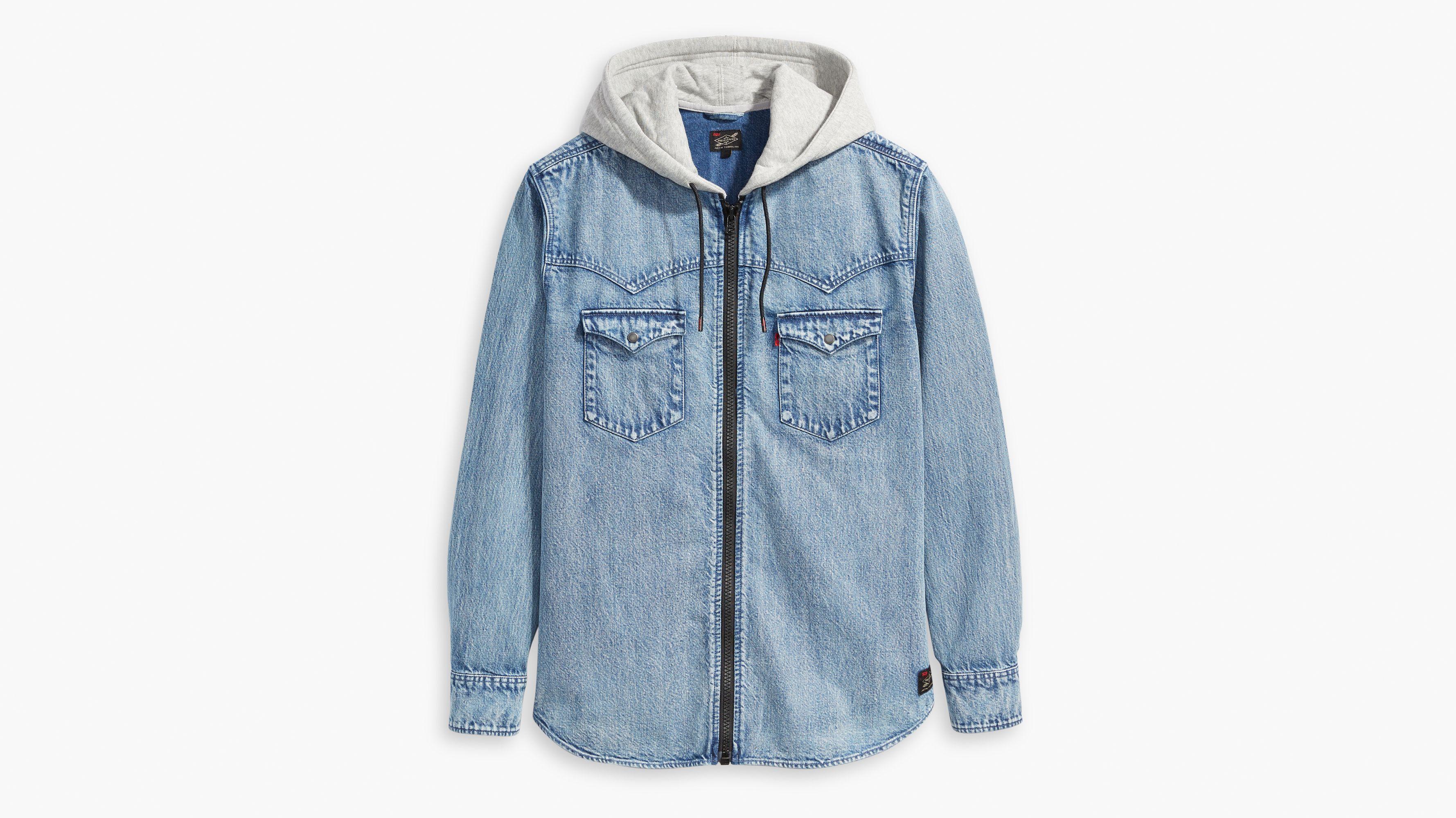 Levi's® X Justin Timberlake Hooded Western Shirt Medium