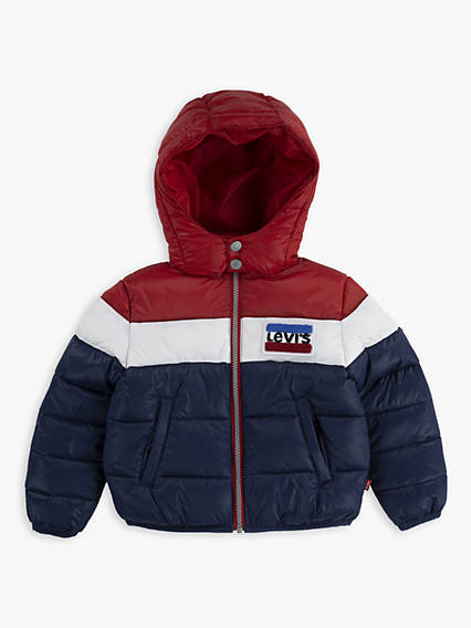 Kids Chenille Patch Puffer